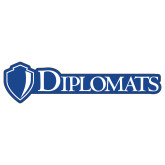 Extra Large Decal-Diplomats Flat Logo, 18 inches wide