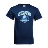 Navy T Shirt-2015 Centennial Conference Golf