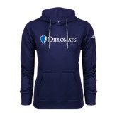 Adidas Climawarm Navy Team Issue Hoodie-Diplomats Flat Logo