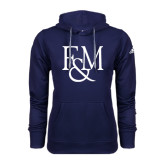 Adidas Climawarm Navy Team Issue Hoodie-F&M