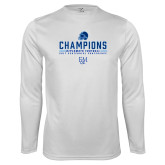 Syntrel Performance White Longsleeve Shirt-2017 Football Champions
