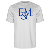 Performance White Tee-F&M