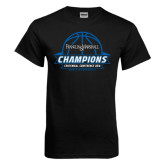 Black T Shirt-2016 Centennial Conference Champions Mens Basketball