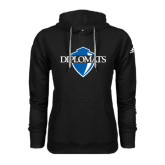 Adidas Climawarm Black Team Issue Hoodie-Diplomats Official Logo