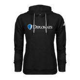 Adidas Climawarm Black Team Issue Hoodie-Diplomats Flat Logo
