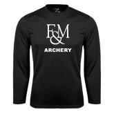 Syntrel Performance Black Longsleeve Shirt-Franklin & Marshall Archery