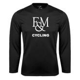 Syntrel Performance Black Longsleeve Shirt-Franklin & Marshall Cycling