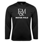 Syntrel Performance Black Longsleeve Shirt-Franklin & Marshall Water Polo