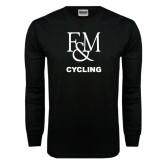 Black Long Sleeve TShirt-Franklin & Marshall Cycling