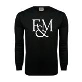 Black Long Sleeve TShirt-F&M