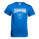 Royal T Shirt-2015 Centennial Conference Lacrosse
