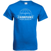 Royal T Shirt-2016 Centennial Conference Champions Mens Basketball