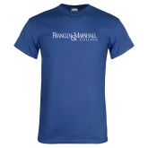 Royal T Shirt-Franklin & Marshall College