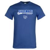Royal T Shirt-Diplomats Lacrosse Stick