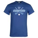 Royal T Shirt-2017 Field Hockey Champions