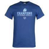 Royal T Shirt-2017 Football Champions