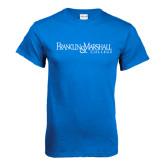 Royal T Shirt-Franklin & Marshall College