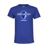 Youth Royal T Shirt-Squash
