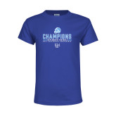 Youth Royal T Shirt-2017 Football Champions
