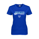 Ladies Royal T Shirt-Lacrosse Stick