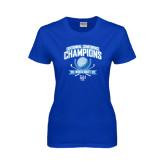Ladies Royal T Shirt-2015 Centennial Conference Golf