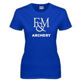 Ladies Royal T Shirt-Franklin & Marshall Archery