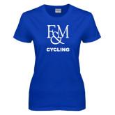 Ladies Royal T Shirt-Franklin & Marshall Cycling