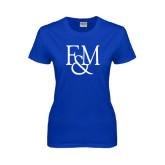 Ladies Royal T Shirt-F&M