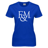 Ladies Royal T Shirt-F&M