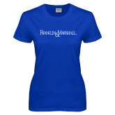 Ladies Royal T Shirt-Franklin & Marshall