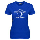 Ladies Royal T Shirt-Field Hockey