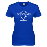Ladies Royal T Shirt-Swimming