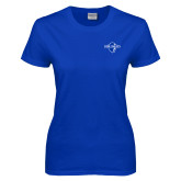 Ladies Royal T Shirt-Diplomats Official Logo