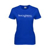 Ladies Royal T Shirt-Franklin & Marshall College