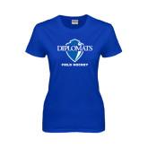 Ladies Royal T Shirt-Field Hockey