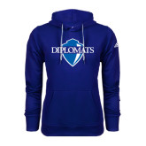 Adidas Climawarm Royal Team Issue Hoodie-Diplomats Official Logo