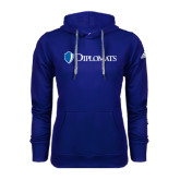 Adidas Climawarm Royal Team Issue Hoodie-Diplomats Flat Logo