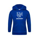 Youth Royal Fleece Hood-Franklin & Marshall Archery