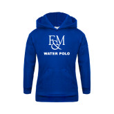 Youth Royal Fleece Hood-Franklin & Marshall Water Polo