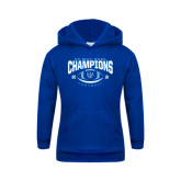Youth Royal Fleece Hood-2016 CC-MAC Bowl Champions Football