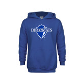 Youth Royal Fleece Hoodie-Diplomats Official Logo