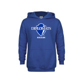 Youth Royal Fleece Hoodie-Soccer