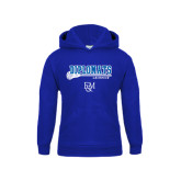 Youth Royal Fleece Hood-Lacrosse Stick