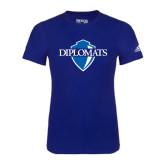Adidas Royal Logo T Shirt-Diplomats Official Logo