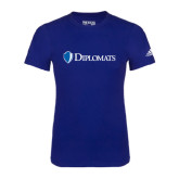 Adidas Royal Logo T Shirt-Diplomats Flat Logo