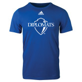 Adidas Royal Logo T Shirt-Diplomats Official Logo
