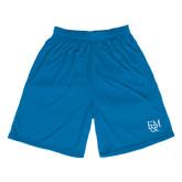 Performance Royal 9 Inch Length Shorts-F&M