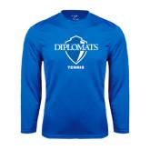 Syntrel Performance Royal Longsleeve Shirt-Tennis