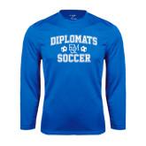 Syntrel Performance Royal Longsleeve Shirt-Diplomats Soccer