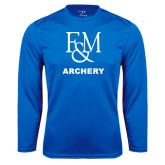 Syntrel Performance Royal Longsleeve Shirt-Franklin & Marshall Archery
